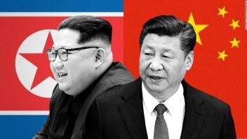 Xi Jinping y Kim Jong Un