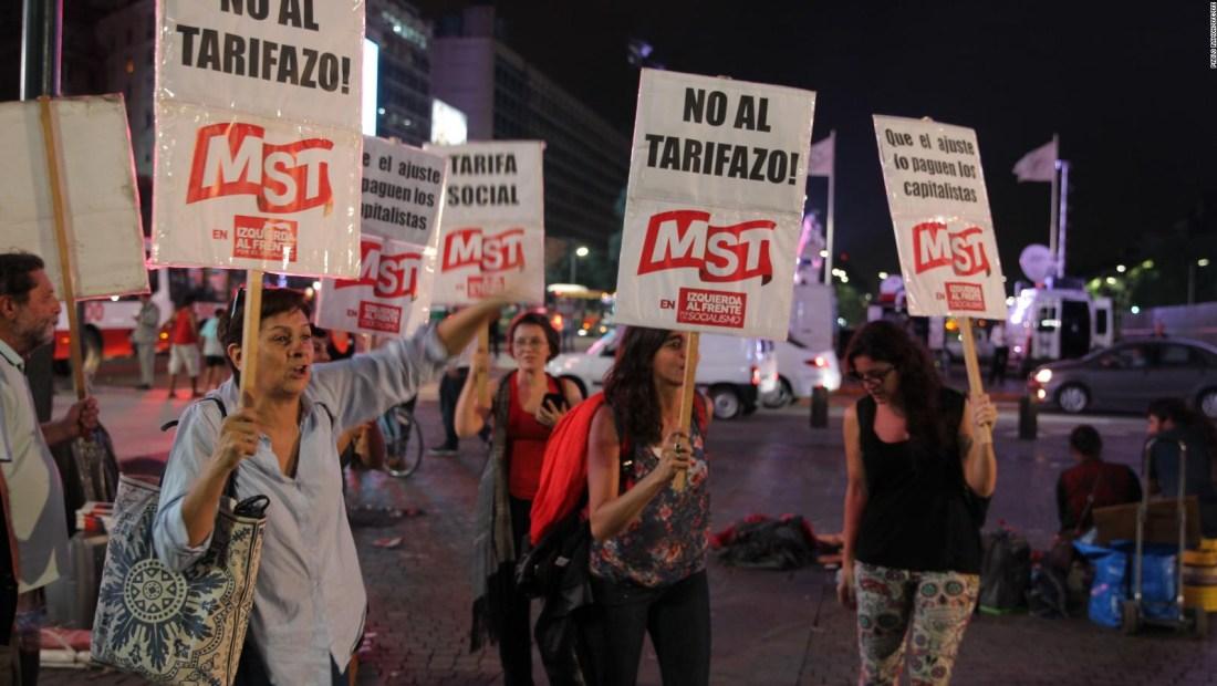 Tarifazo en Argentina: ¿qué panorama enfrenta la población?