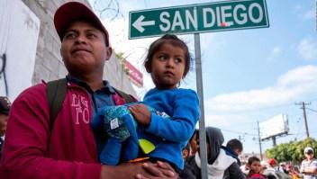 Mitad de la Caravana Vía Crucis pediría asilo a EE.UU.
