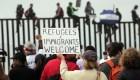 Caravana de migrantes busca asilo en EE.UU.