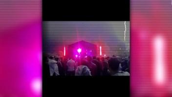 Un rayo desploma un escenario en Argentina
