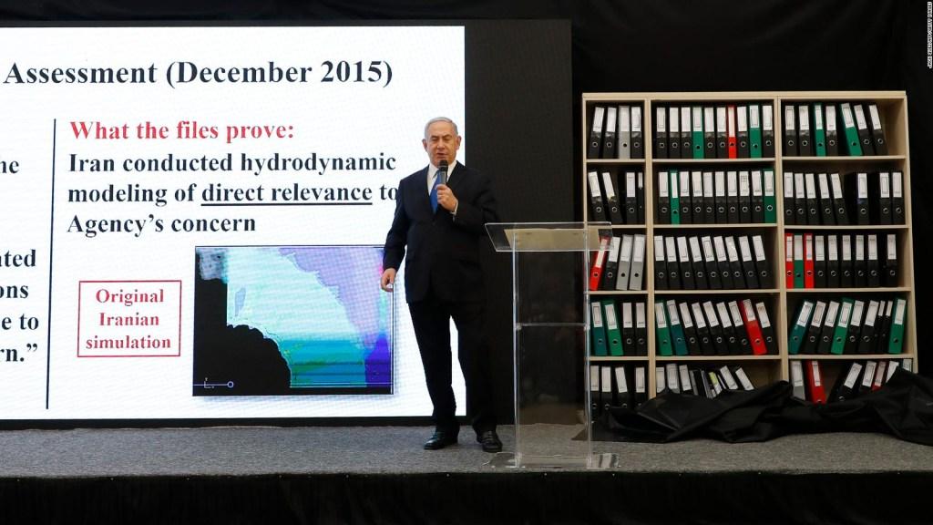 Netanyahu: Irán tenía armas nucleares