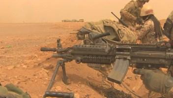 Las maniobras bélicas jordano-estadounidenses en el desierto