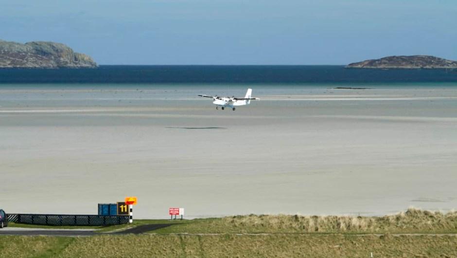 Aeropuerto Barra, Escocia. (Crédito: VisitScotland_ScottishViewpoint)