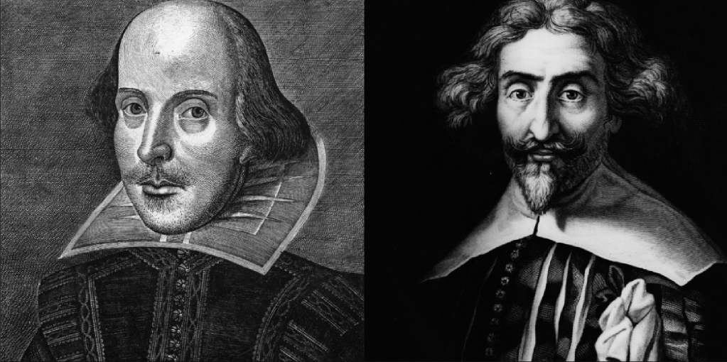 WIlliam Shakespeare y Miguel de Cervantes. Día del libro.