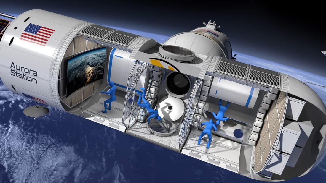 Aurora Station, el primer hotel en el espacio | CNN