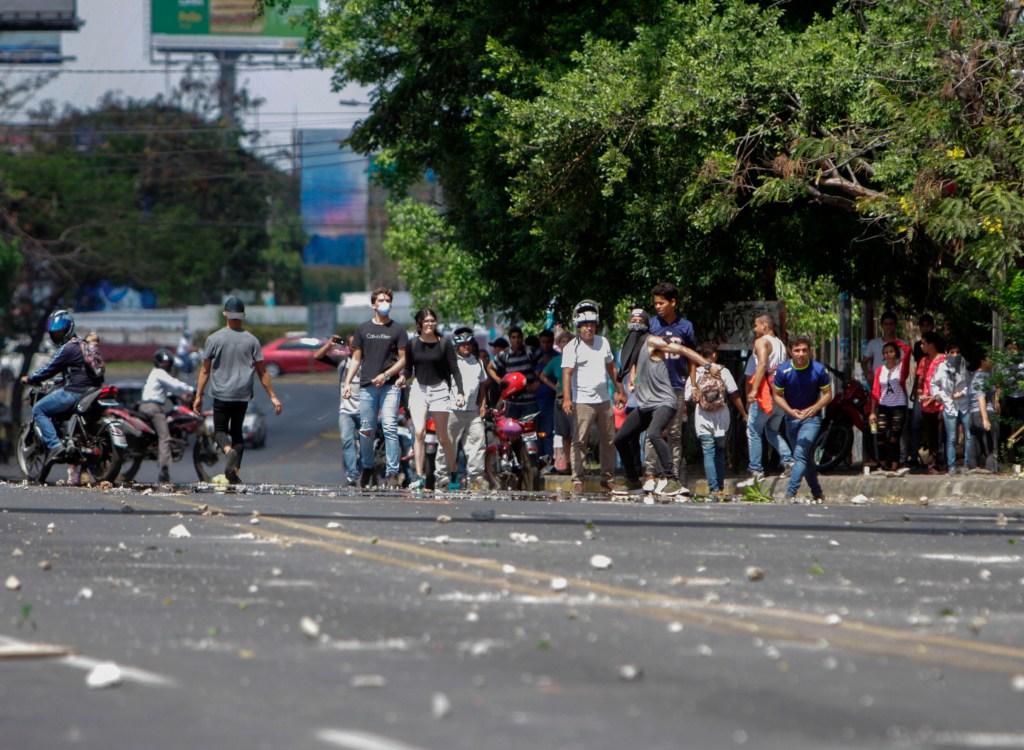 Protestas Nicaragua Seguro Social