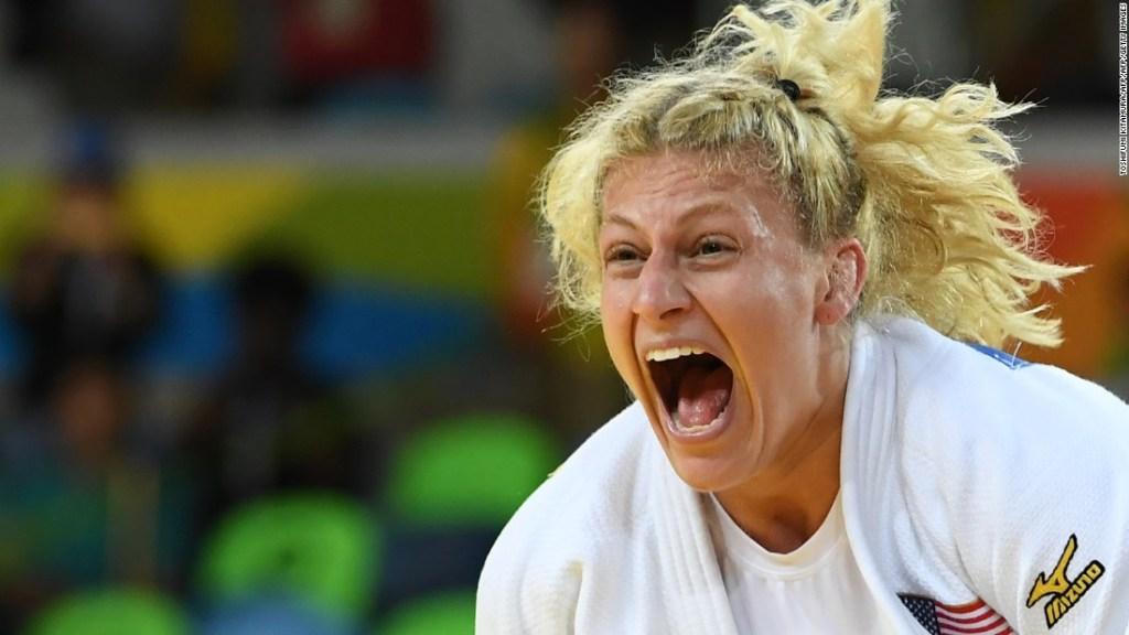 Kayla Harrison, judoca de Estados Unidos