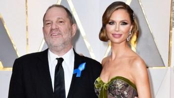 Harvey Weinstein y Georgina Chapman en los Oscar de 2017