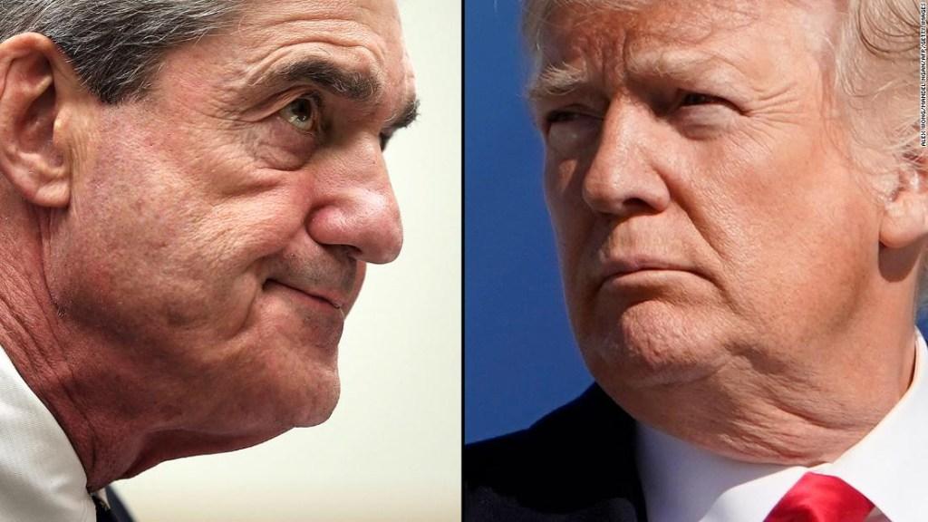 Robert Mueller y Donald Trump
