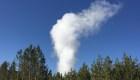 Mira las increíbles erupciones de este géiser gigante