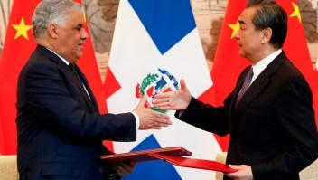 República Dominicana rompe lazos con Taiwán y se asocia con China