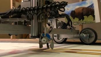 Sozo: el robot que sabe pintar
