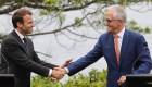 """Macron llama """"deliciosa"""" a la primera dama de Australia"""