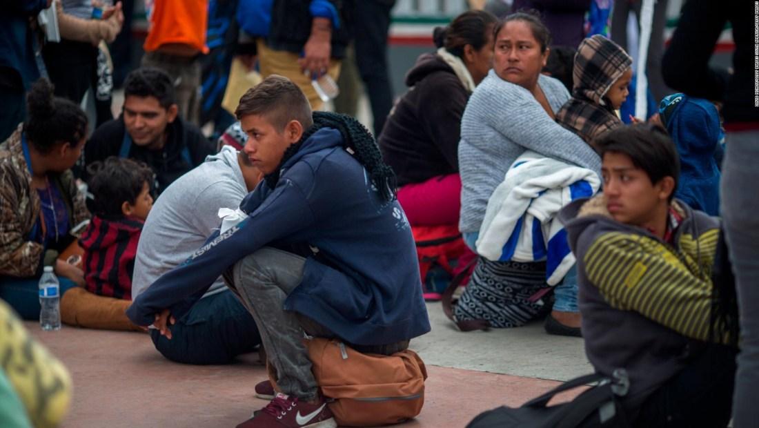 ¿Cómo sobrevive la caravana de migrantes?