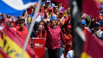 Así fue la muestra de apoyo a Maduro en el Día del Trabajo