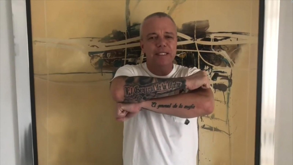 'Popeye', detenido por presunta extorsión