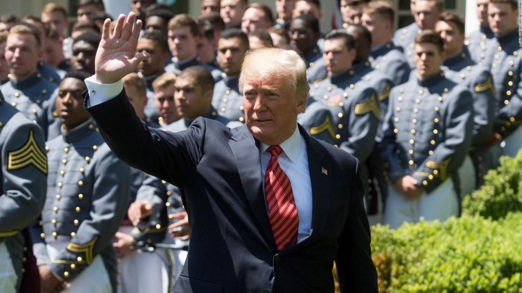 Trump y un nuevo desafío: La fuerza espacial militar