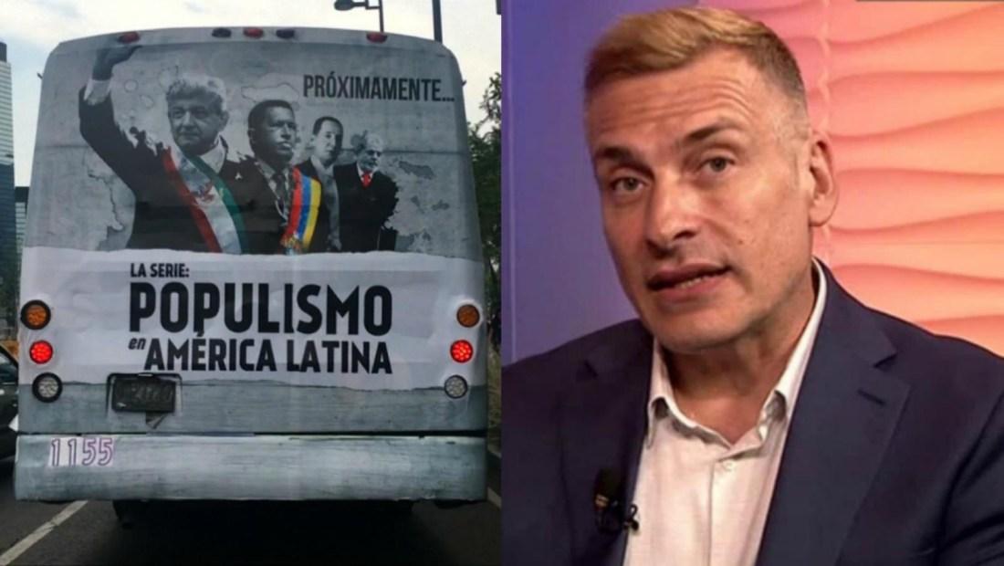 """Habla el narrador de la serie """"Populismo en América Latina"""""""