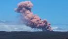 Lava y gases lanza el volcán Kilauea, en Hawai