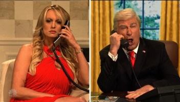 "Stormy Daniels se burla de Trump en ""Saturday Night Live"""