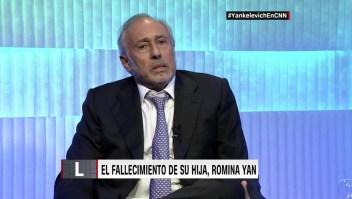 Gustavo Yankelevich habla de la muerte de su hija, Romina Yan