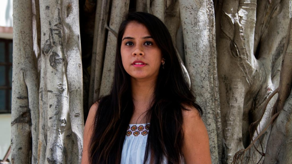 Mujeres india. Akriti Wadhwa, 21, estudiante de periodismo.