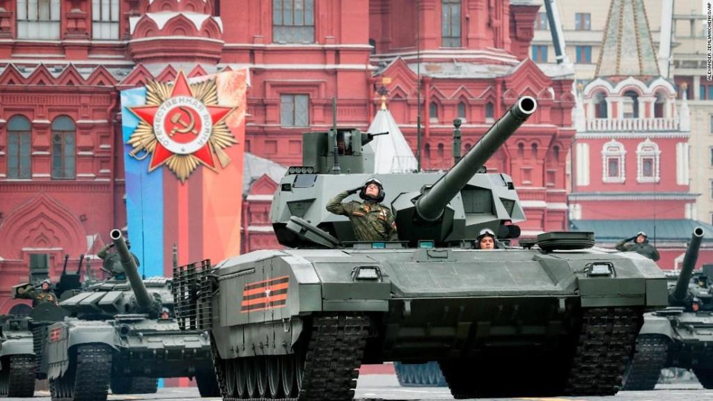 Desfile del día de la Victoria en Rusia