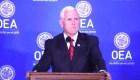 #MinutoCNN: Pence pide suspender a Venezuela de la OEA