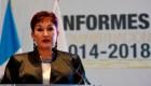 Thelma Aldana se despide de la Fiscalía en Guatemala