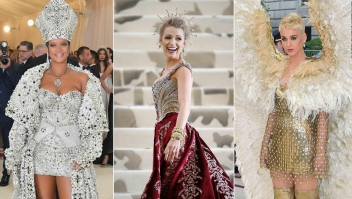 La gala de moda del Met presenta símbolos católicos