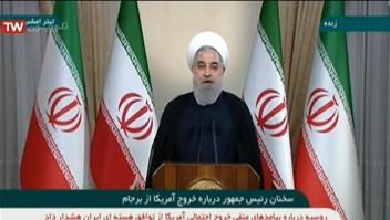 Hassan Rouhani: Irán cumple con sus compromisos, EE.UU. no