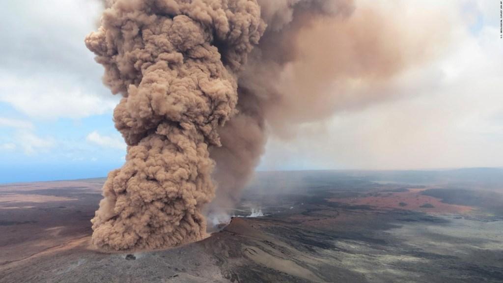 En Hawai el volcán Kilauea sigue causando estragos