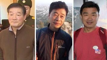 Corea del Norte libera a tres prisioneros de EE.UU.