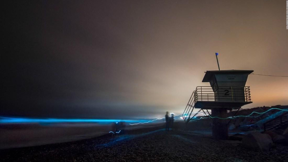 Las playas del sur de California brillan