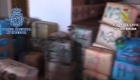 Desarticulan red de tráfico internacional de hachís