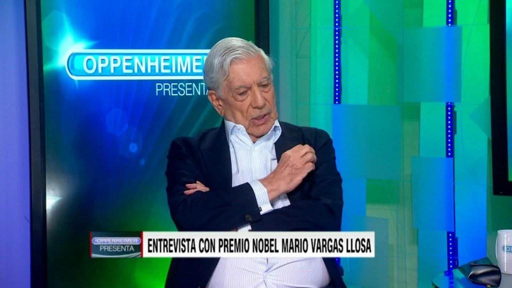 Mario Vargas Llosa habla del populismo de Trump
