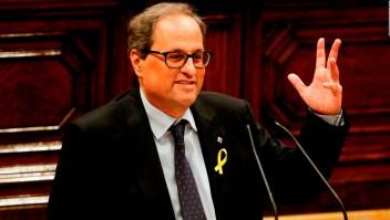 Quim Torra sería presidente de Cataluña