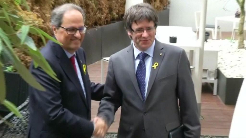 Lo que deja la reunión de Torra y Puigdemont en Berlín
