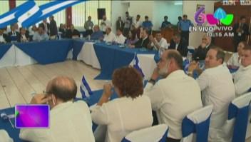 Inicia el diálogo nacional en Nicaragua