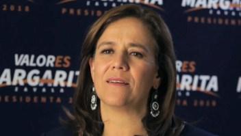 Margarita Zavala no declina a favor de ningún otro candidato