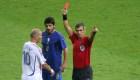 #DatoMundialista: la expulsión de Zidane en Alemania 2006