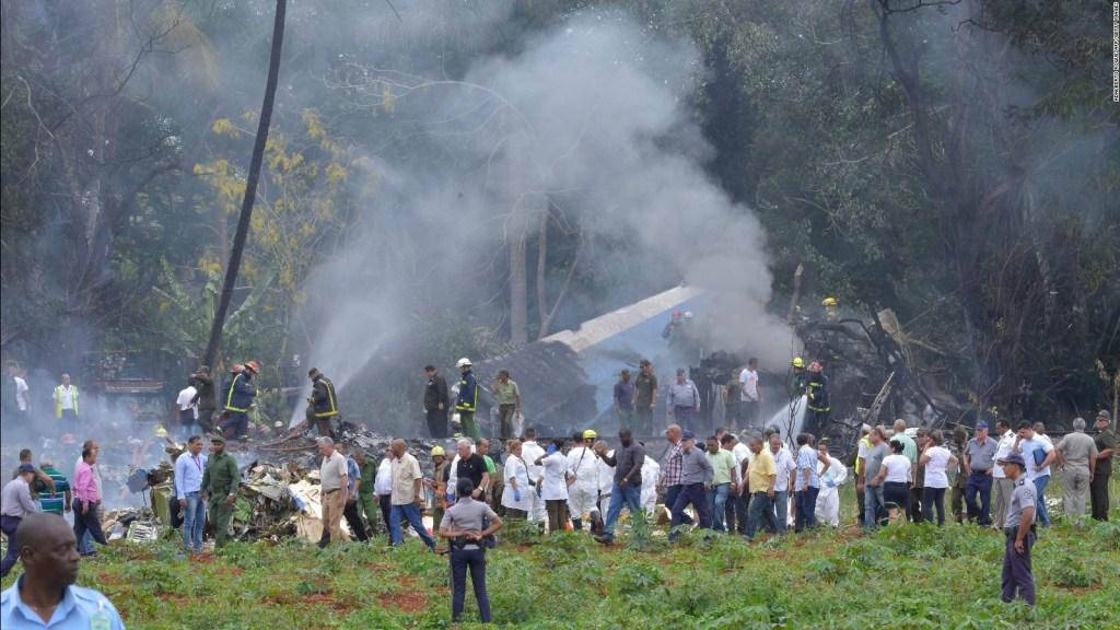 Lo que debes saber del avión que se estrelló en Cuba