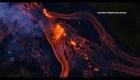 Las impactantes imágenes de ríos de lava en Hawai