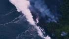 Así llegó la lava del Kilauea al Pacífico