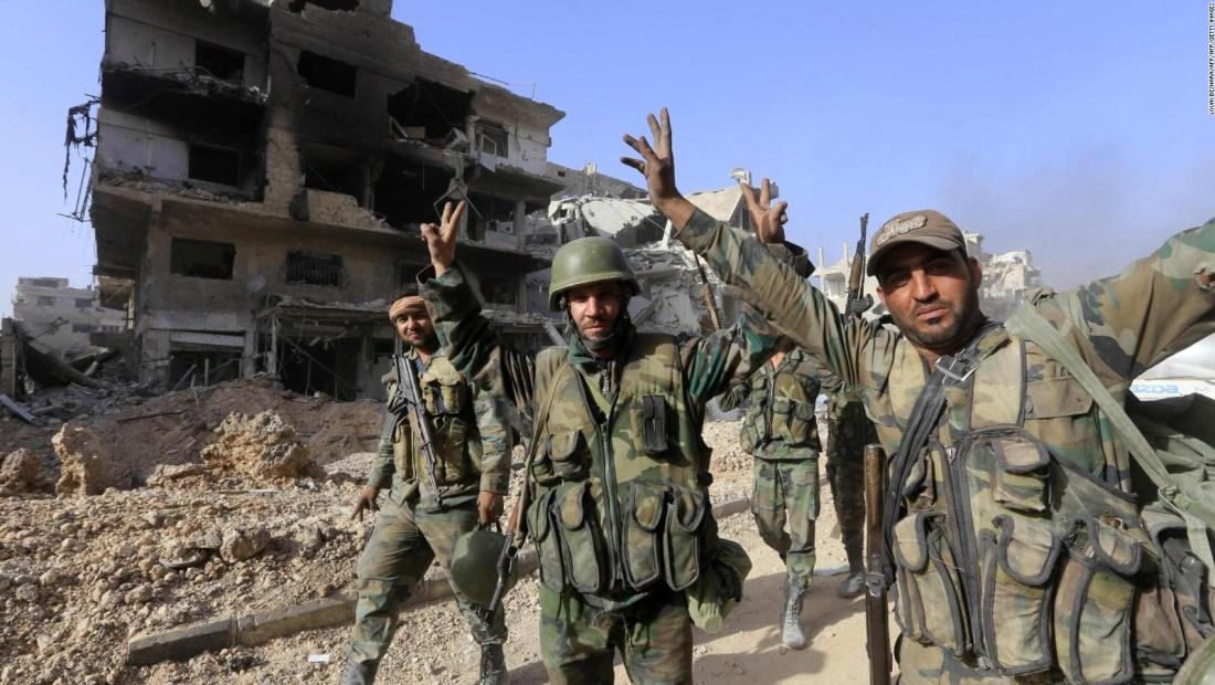 Damasco, finalmente libre del control de ISIS