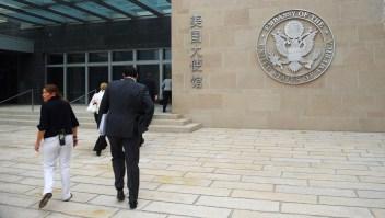 Embajada de EE.UU. emite advertencia a sus empleados en China