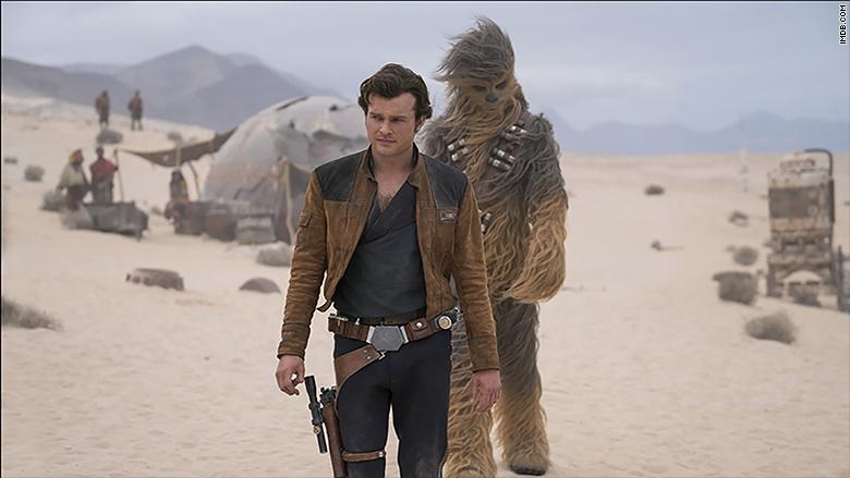"La taquilla de ""Solo: A Star Wars Story"" tuvo problemas este fin de semana."