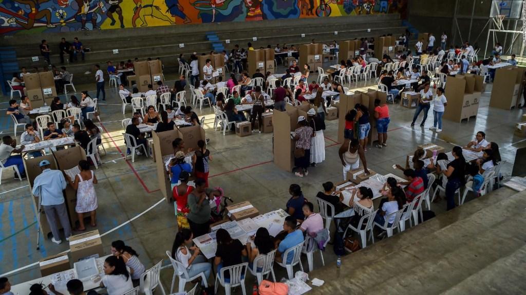 Una desgastante campaña electoral en Colombia