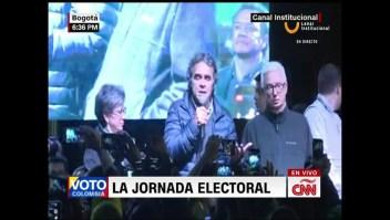 """Fajardo: """"Respetamos el resultado de las elecciones"""""""